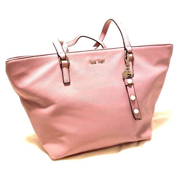 Nine West Handbags - Lavender Nine West tote purse NWOT.
